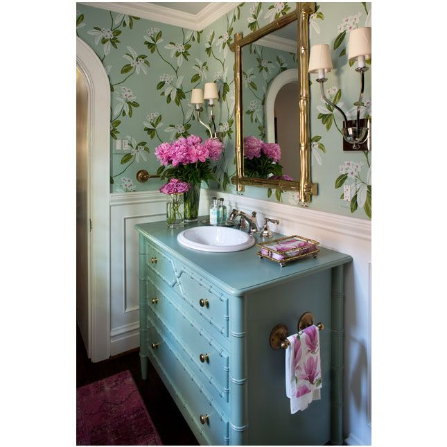 Custom Installed Bristol Sink Base. Design: Laura Lee ...