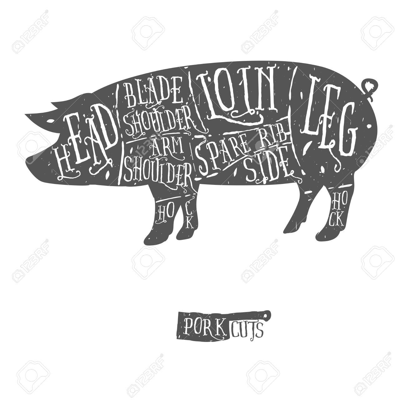 vintage pig illustration - Google Search | Graphics and Objects for ...