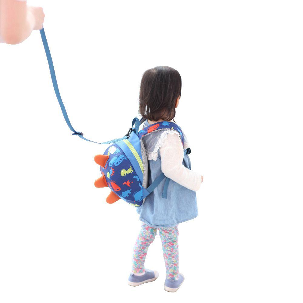 80c9927368f Leash Safety Anti-lost Backpack Strap Walker Dinosaur Backpack ...