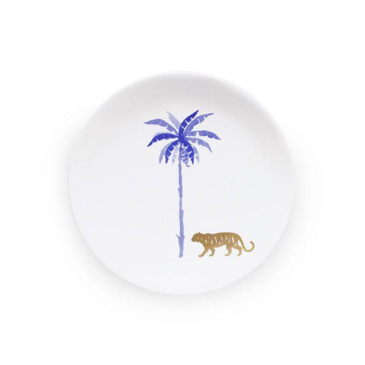 MIRA SANTO | Tiger - Coupe Plate 22cm