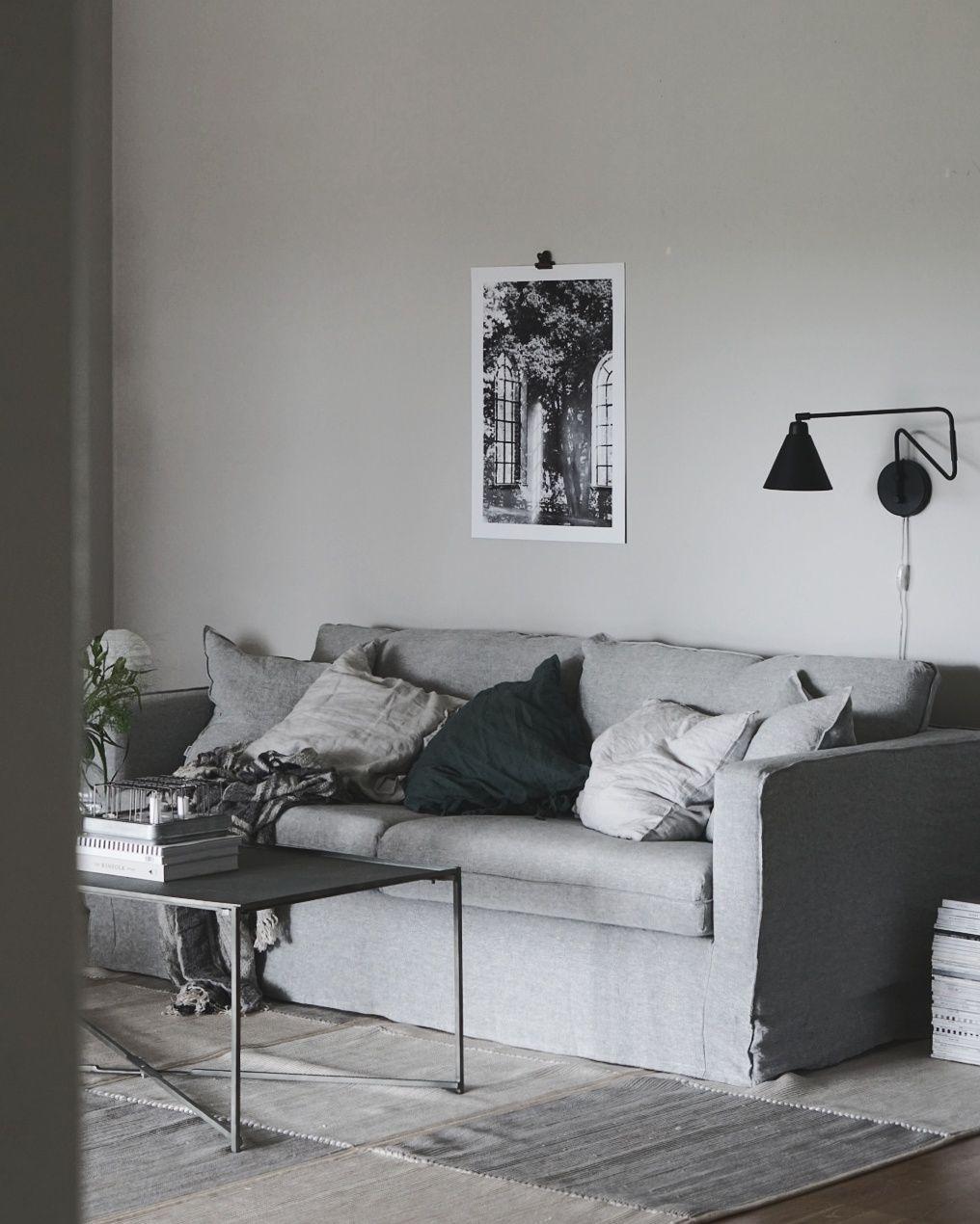 Bemz Karlstad: Karlstad, 3 Seater Sofa Cover Loose Fit