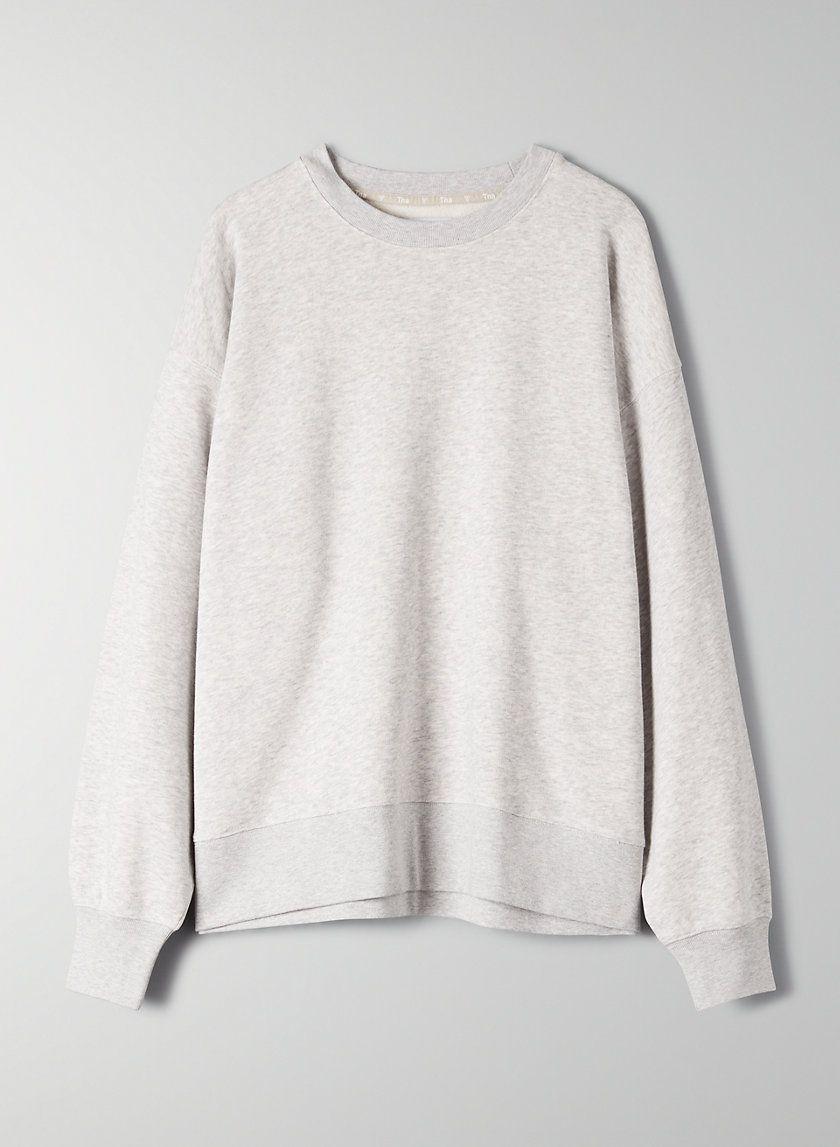 Airy Fleece Boyfriend Crew Sweatshirt Sweatshirts Sweatshirt Fashion Crew Sweatshirts [ 1147 x 840 Pixel ]