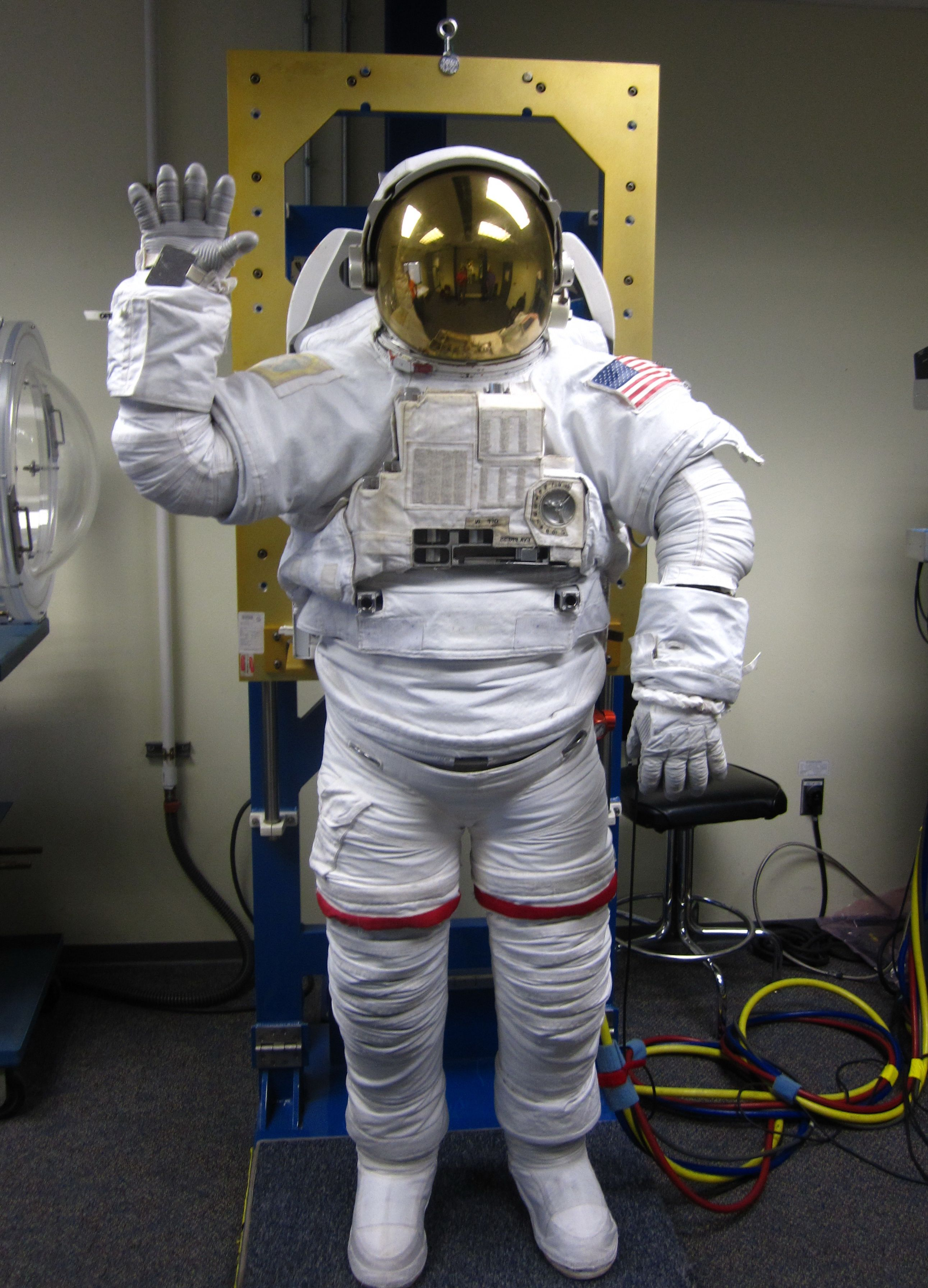 an interactive spacesuit experience nasa - HD2582×3584