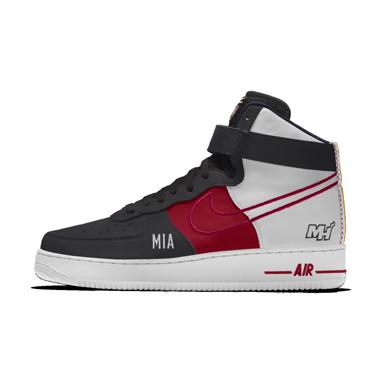 Buty Meskie Nike Air Force 1 Low Premium Id Miami Heat Nike Air Force Mens Nike Shoes Nike Air Force Sneaker