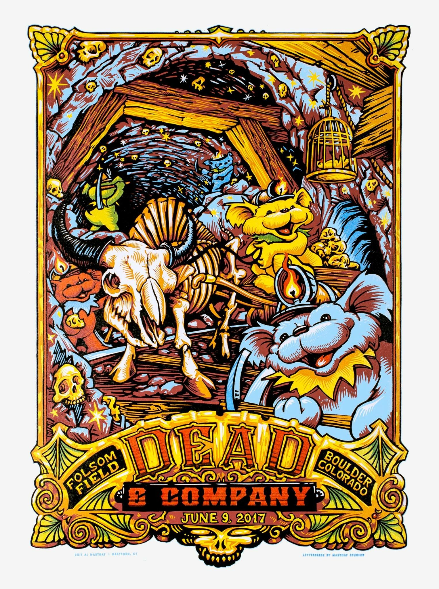 Dead And Company Poster Boulder