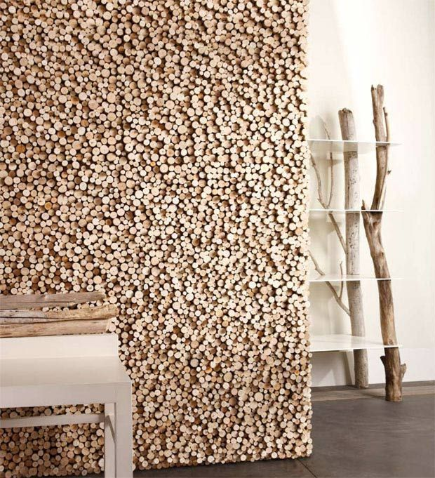Seen On Archiproducts This Unique Wall Covering Made Of Rough-Cut