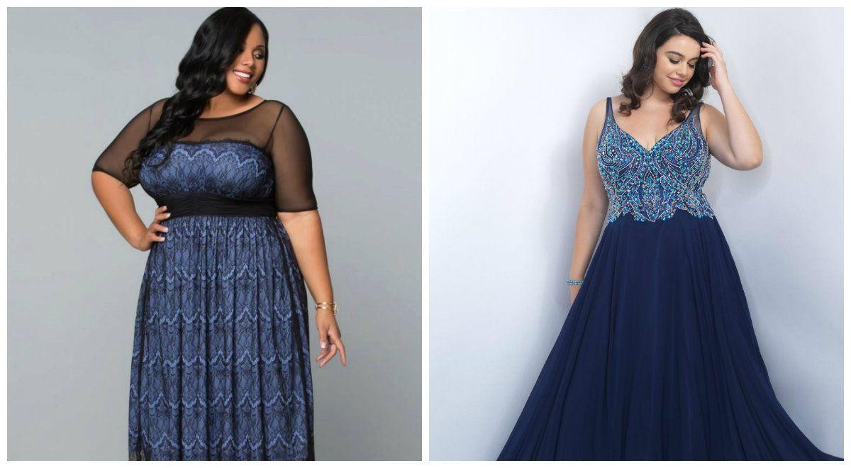 plus size prom dresses 2019: trendy evening dresses for plus