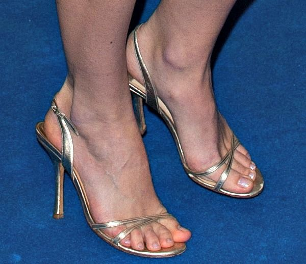 """e814d27e3cd Keira Knightley Works Her Magic in Chanel and Gold Jimmy Choo """"India""""  Sandals"""