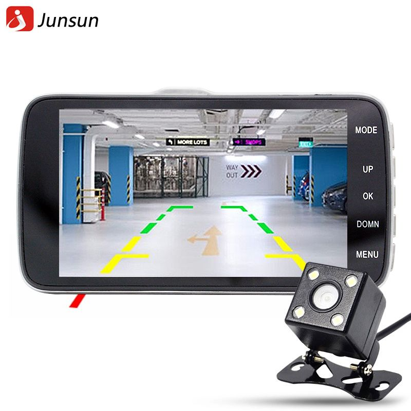 Big Save Onjunsun 4 0 Car Dvr Camera Dual Lens With Ldws Adas Rear View Support Front Car Distance Warning Full Hd 1080p Ca Dvr Camera Dashcam Dash Camera