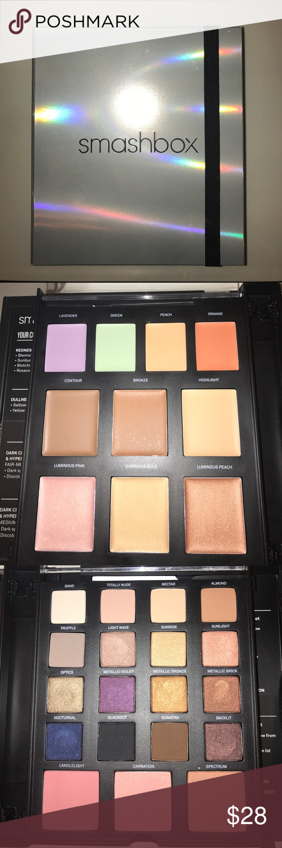 Smashbox Masterclass Palette Lighting Theory Cream