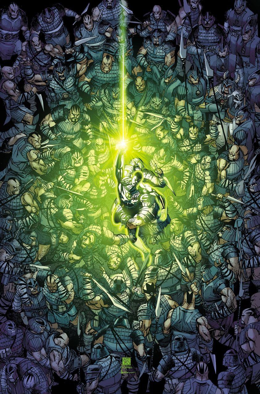 Green Lantern Corps. Vol.3 #27 - Bernard Chang
