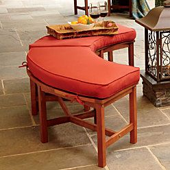 Fire Pit Bench Cushion More Colors Available
