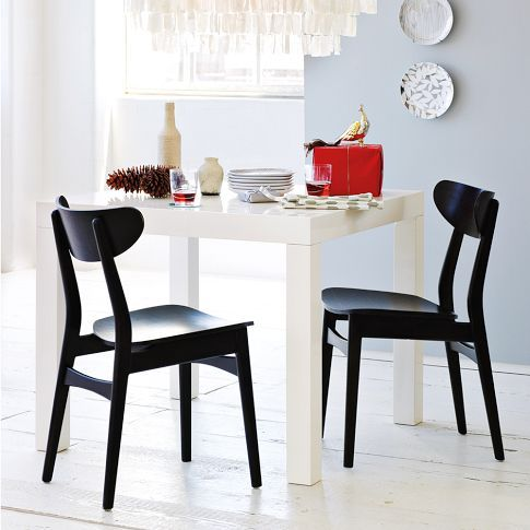 West Elm Parsons Dining Table In White Will Go Nicely With Our