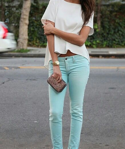 Tinch of mint jeans