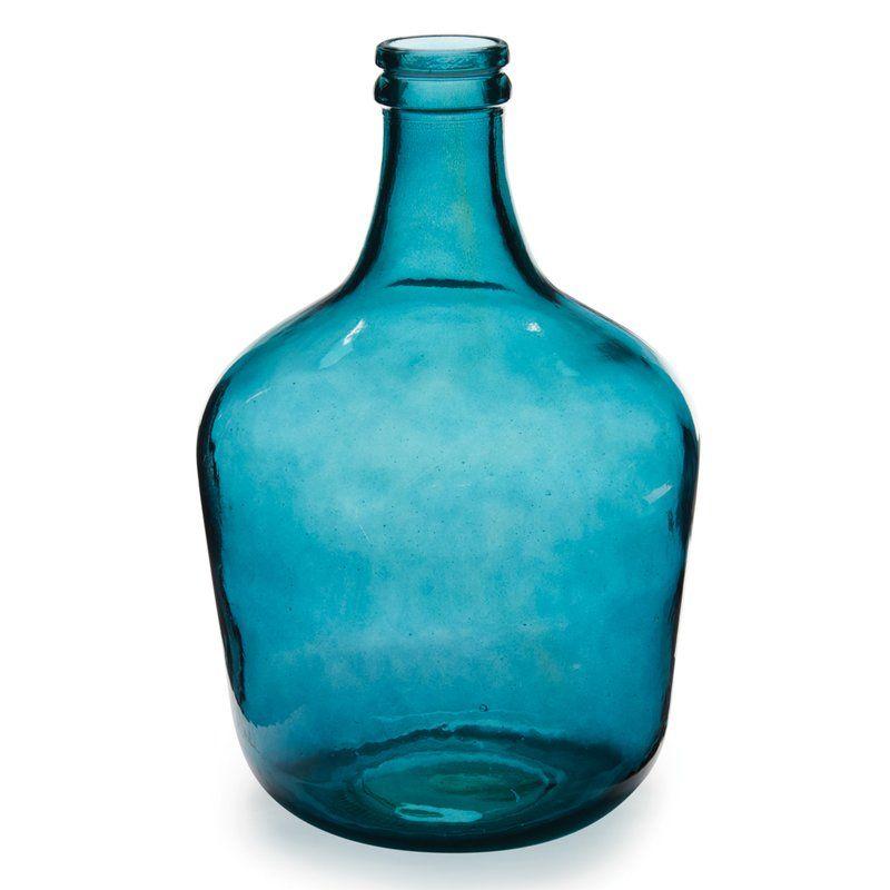 Parisian Bottle Glass Table Vase Table Vases Glass Table Vase