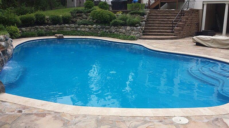 Super Blue Diamond Brite Pool