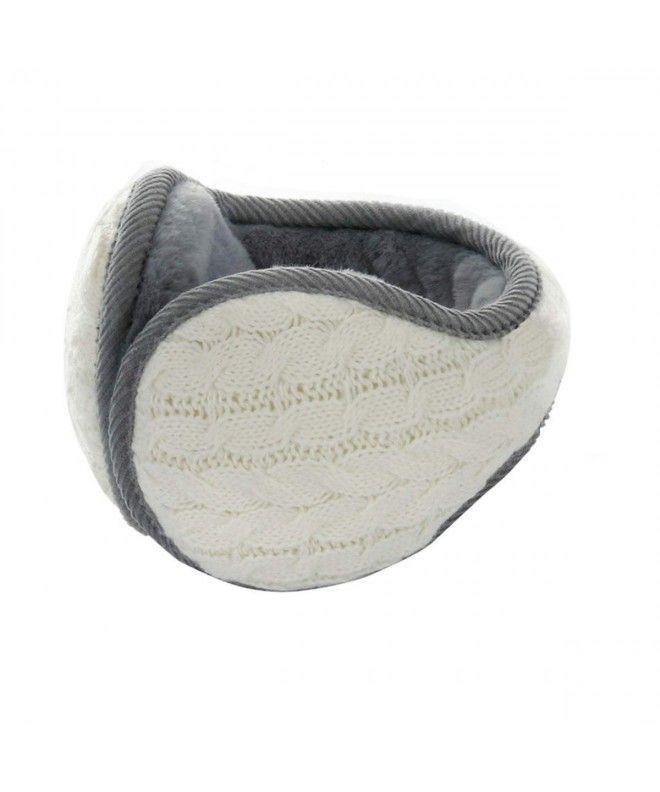 87995a64bb9 Winter Knit Earmuffs Women - Beige - CG18IGWS5UM