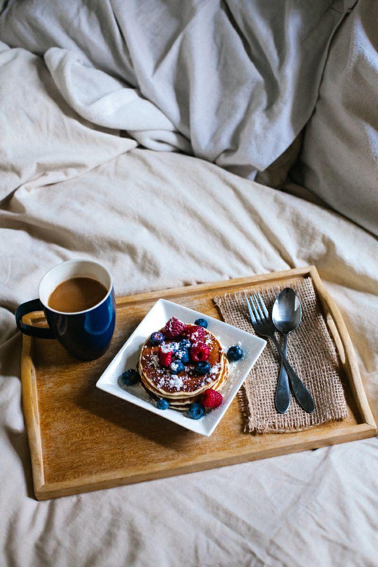 Breakfast then bed