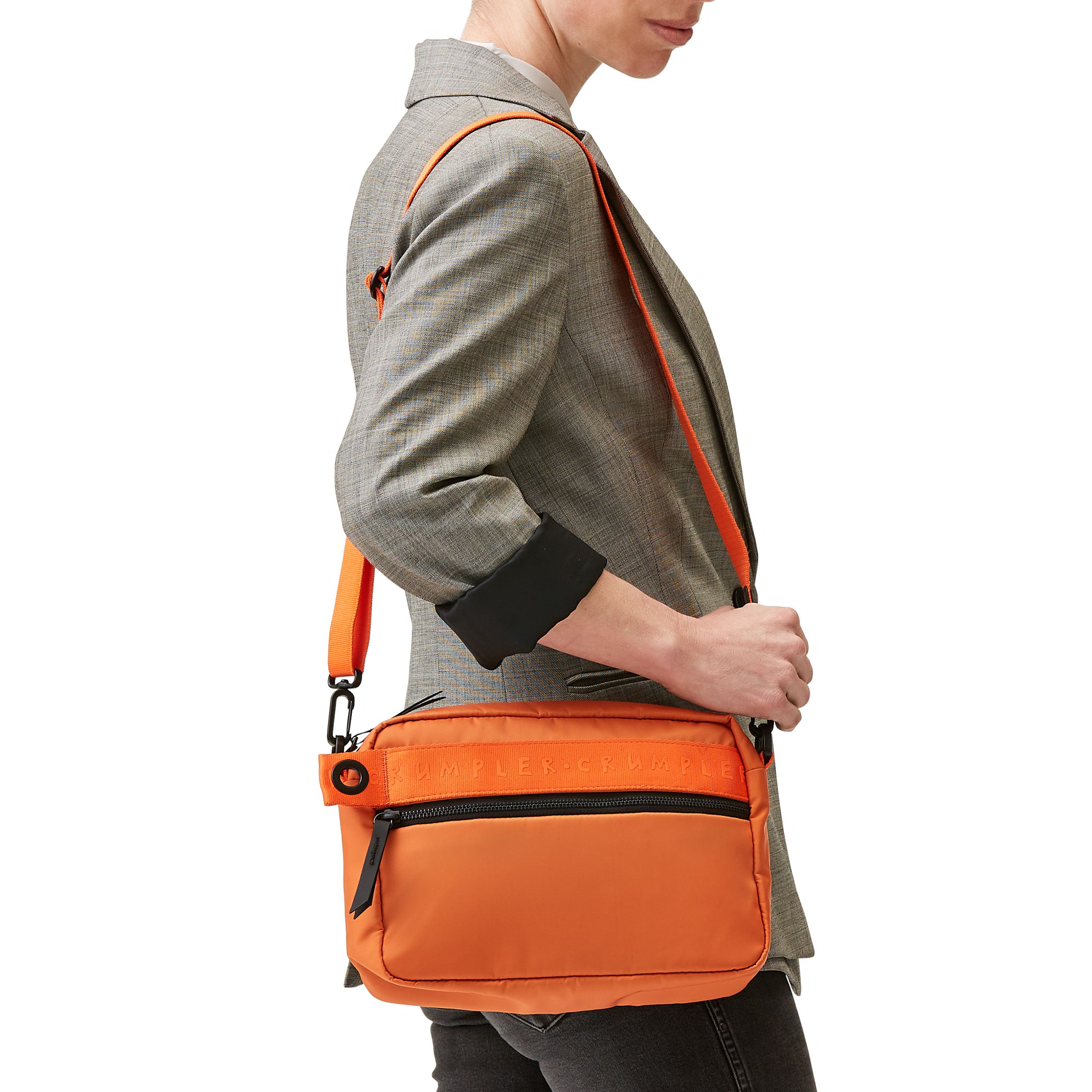 9d82c28e6b6 The Hot Spot hip-pack in Jaffa #crumpler #toughbags #sportsluxe  #sportsluxebags #orangebags #springbags #springfashion #crossbodybags