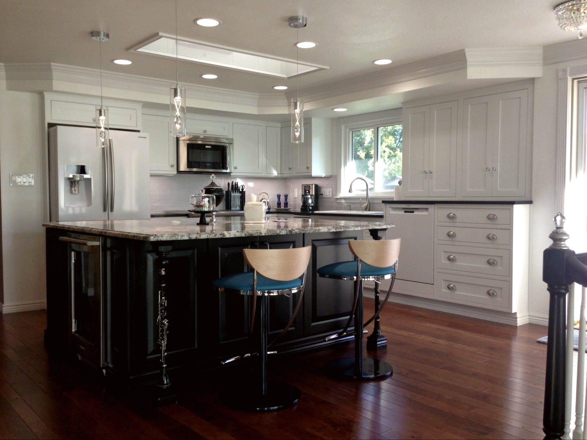 BKC Kitchen and Bath Denver kitchen remodel - Perimeter cabinets ...