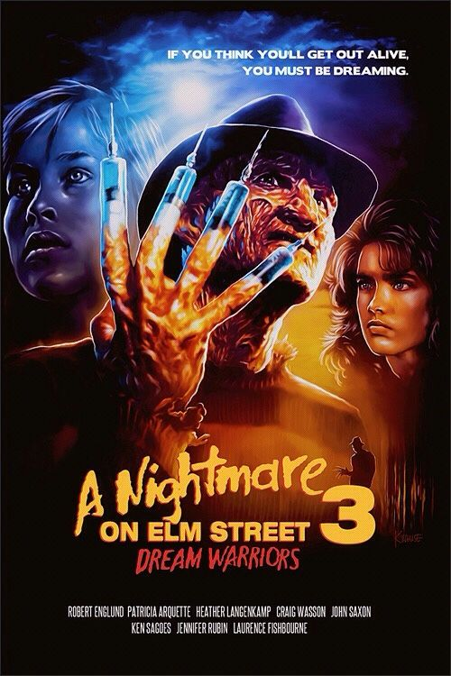 A Nightmare on Elm Street 3 Dream Warriors (1987) BluRay 720p 600MB Dual Audio ( Hindi – English ) ESubs MKV