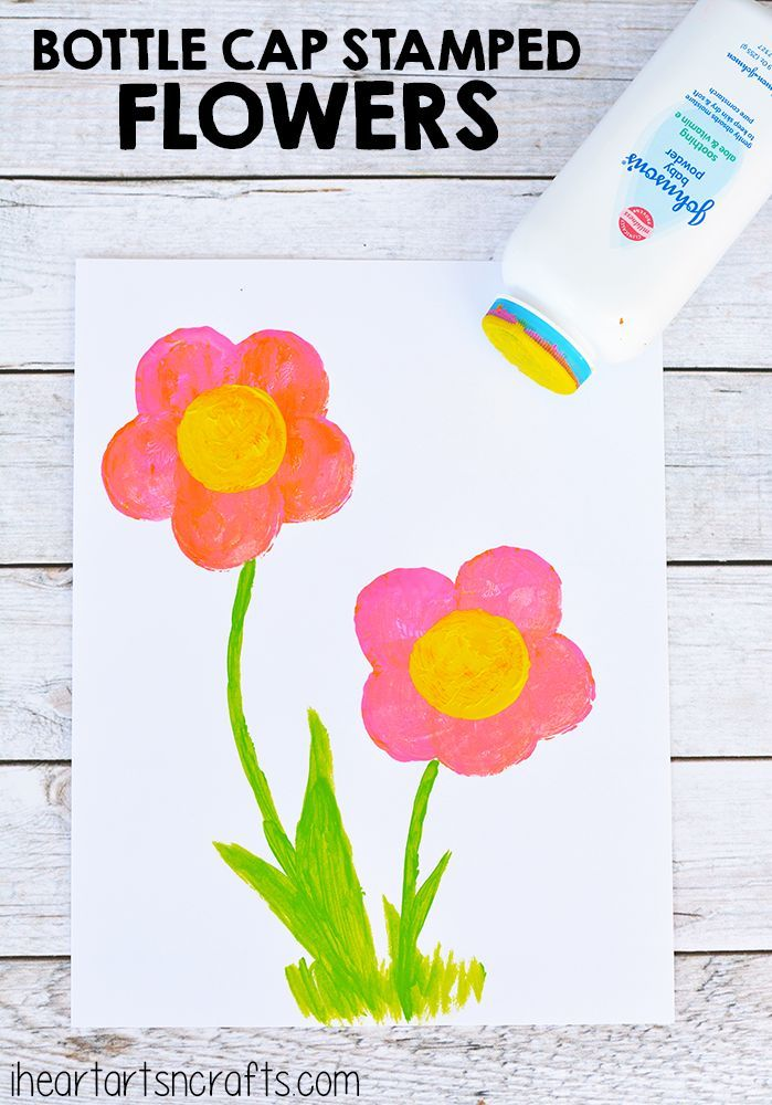 Recycled Flower Vase Art Art Projects For Kids Pinterest
