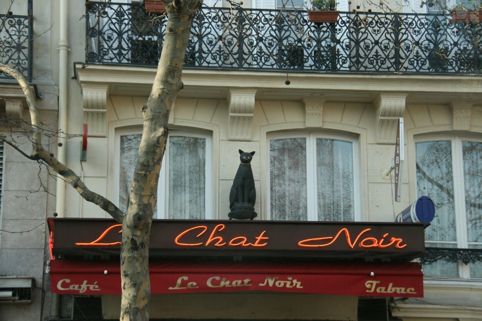Paris Through My Lens Samedi Signes Le Chat Noir Le