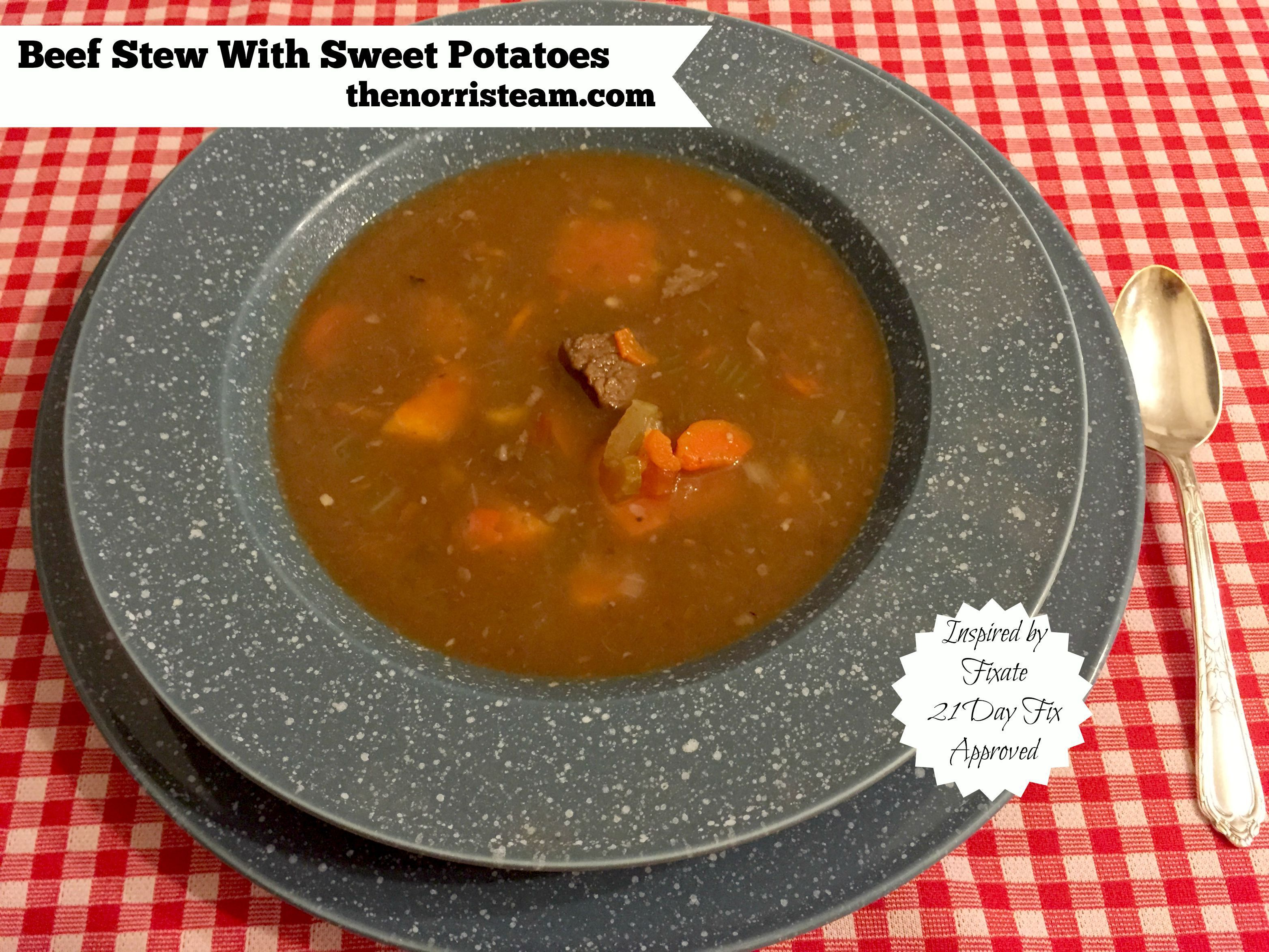 21 Day Fixate Beef Stew