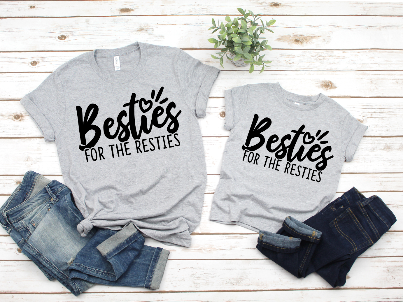Besties For The Resties Best Friend Mommy and Me Set