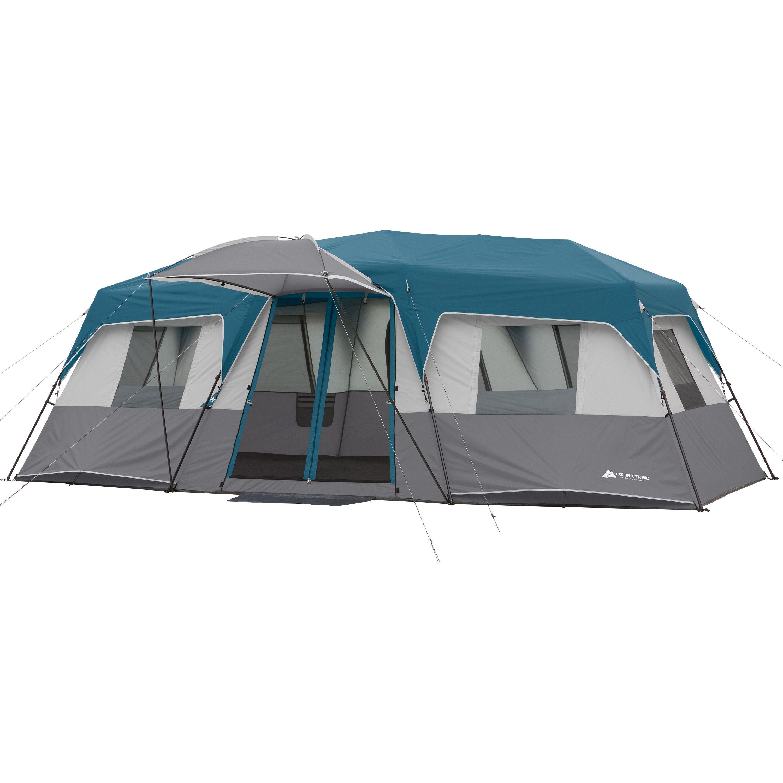 Ozark Trail 8 Person Instant Hexagon Cabin Tent Walmart Com Family Tent Camping Cabin Tent Tent