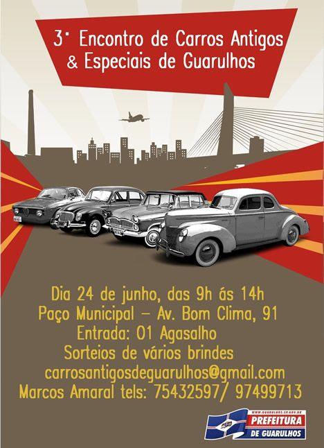 Terceiro Encontro de Carros Antigos e Especiais de Guarulhos