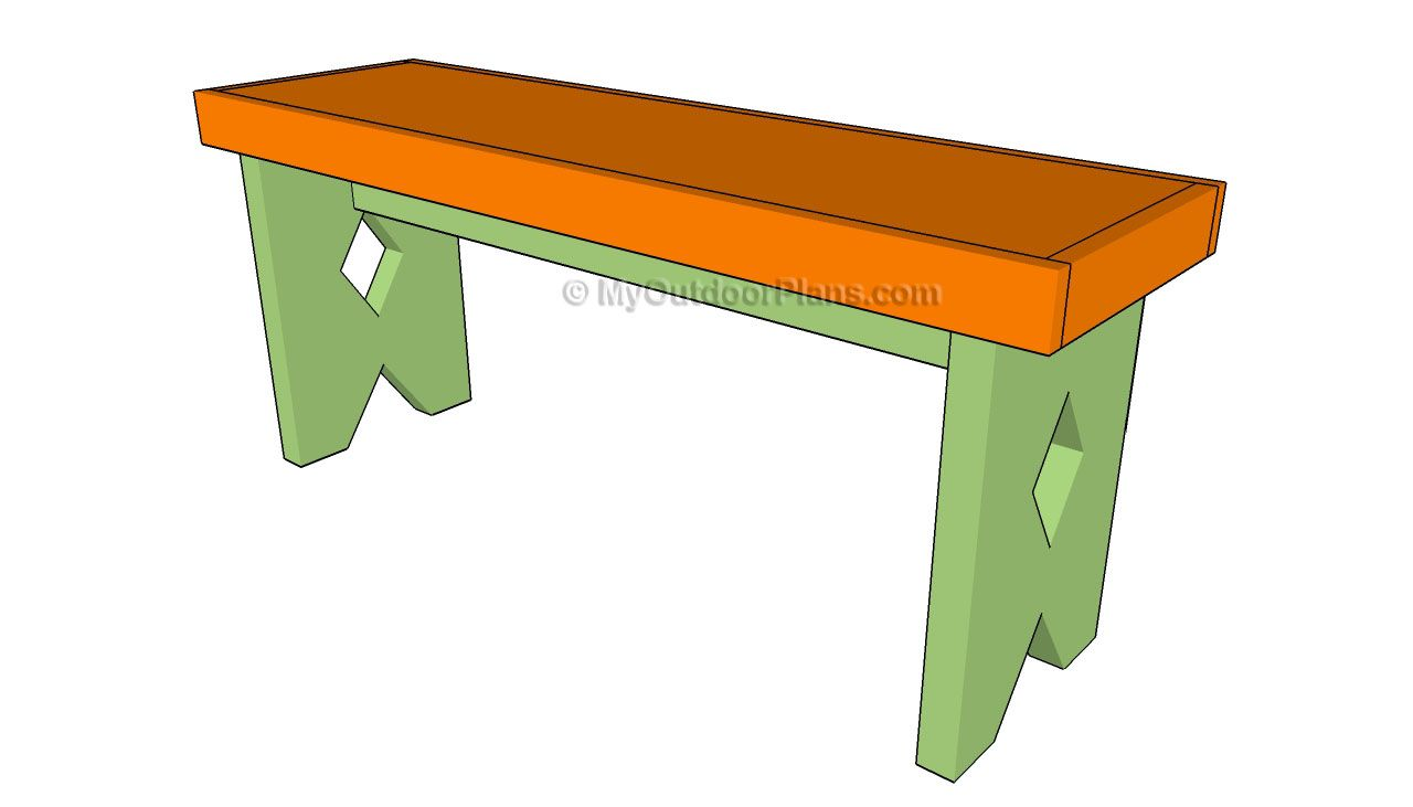 Outdoor wooden benches woodworking plans - Free Wooden Bench Plans Outdoor Furniture Plans