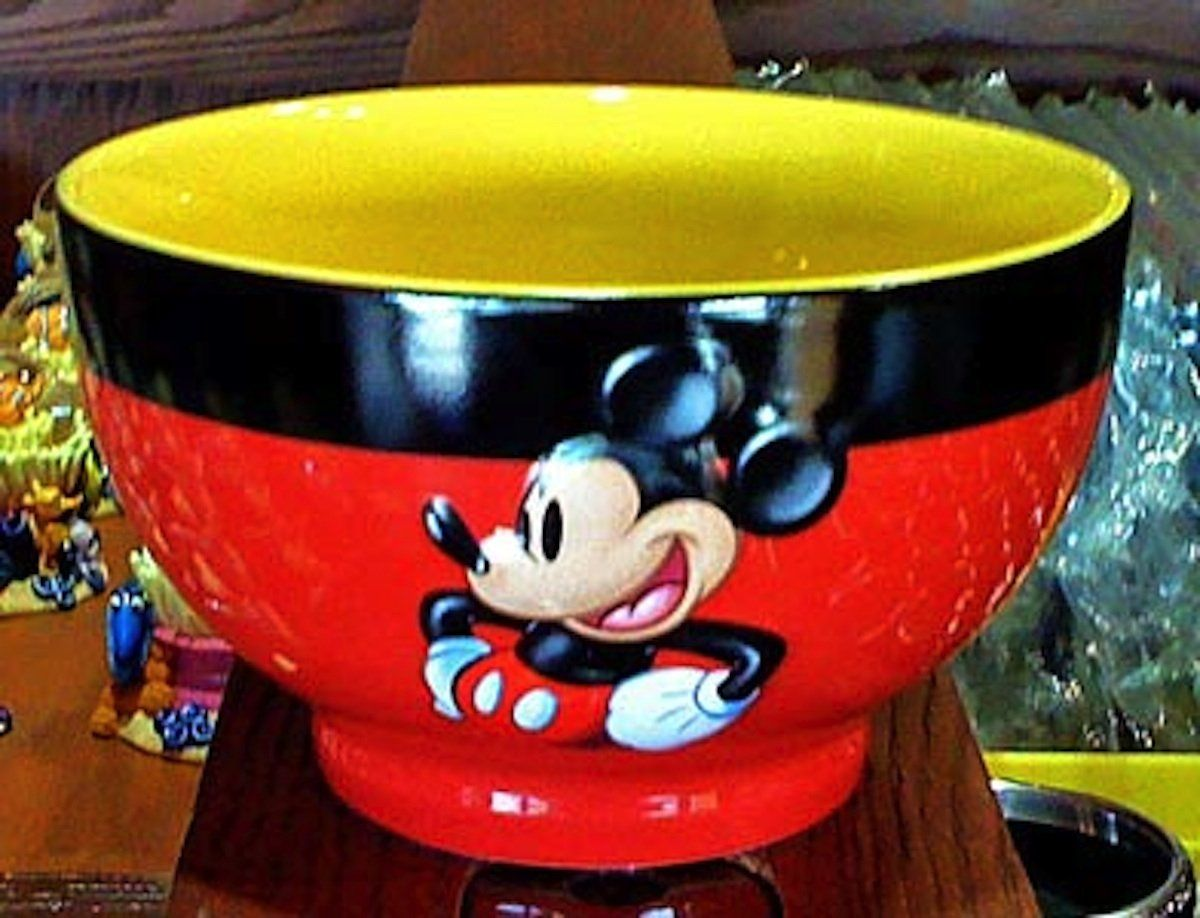 Disney Parks Mickey Mouse Fun Ceramic Cereal Bowl NEW | Disney ...