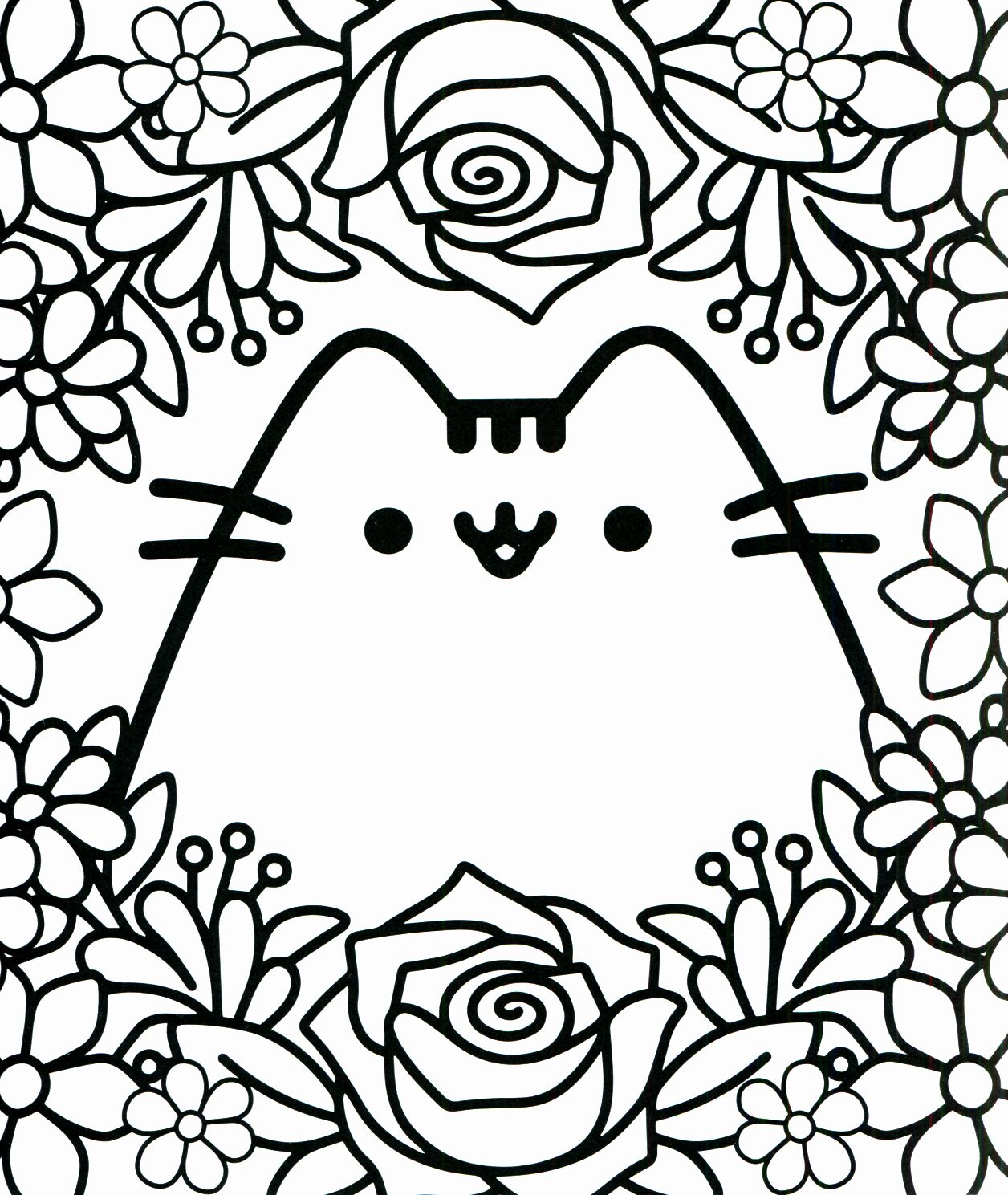 Pusheen Coloring Pages Printable Awesome Pusheen Coloring Book Pusheen Pusheen The Cat Cute Coloring Pages Pusheen Coloring Pages Cat Coloring Page