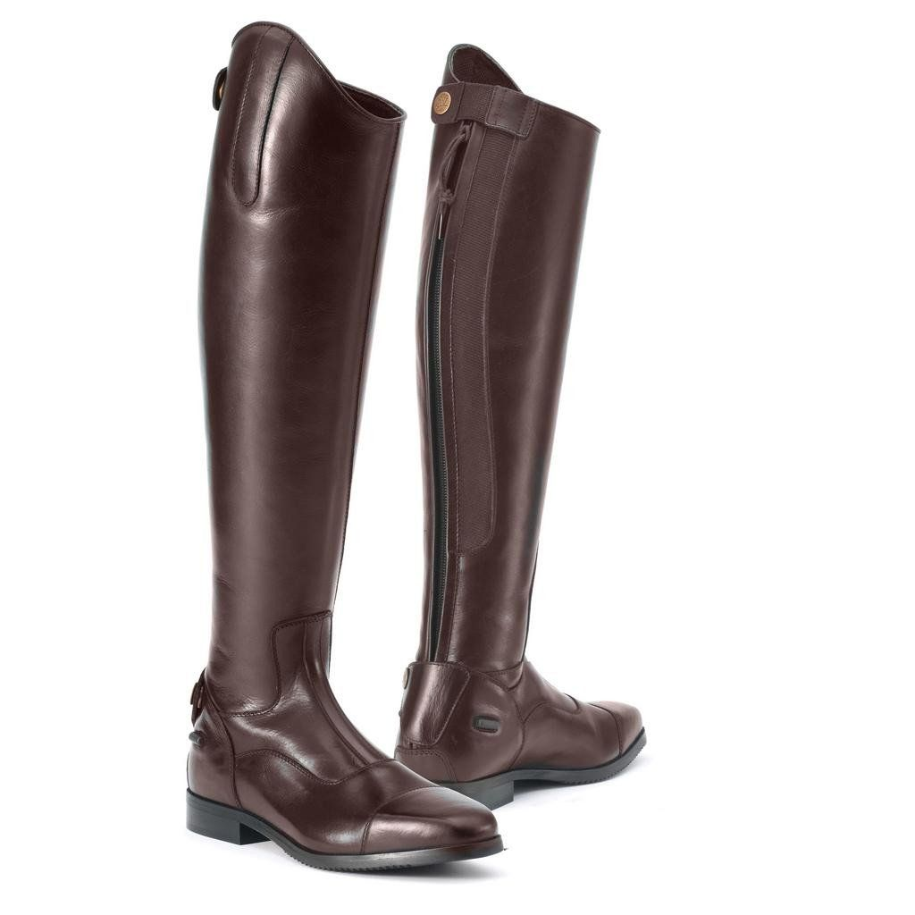 Ovation Olympia Tall Show Boot Dark Brown Horse Riding Boots Boots English Riding Boots