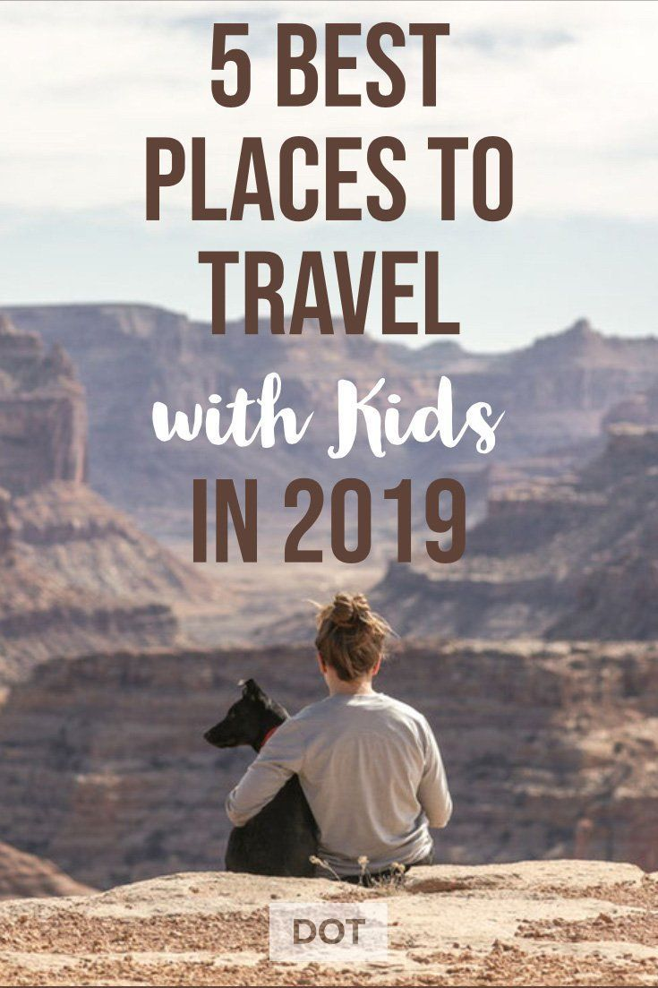 Want to travel with your kids this year? These are the 5 best places to travel with kids in the United States. Travel More in 2019. #familytravel #familyvacation #travelwithkids #placestotravelwithkids