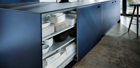 next125 - NX 902 Glas matt indigoblau | Next125 Keukens ...