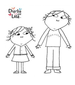 Charlie and Lola coloring pages | Para colorear | Pinterest ...