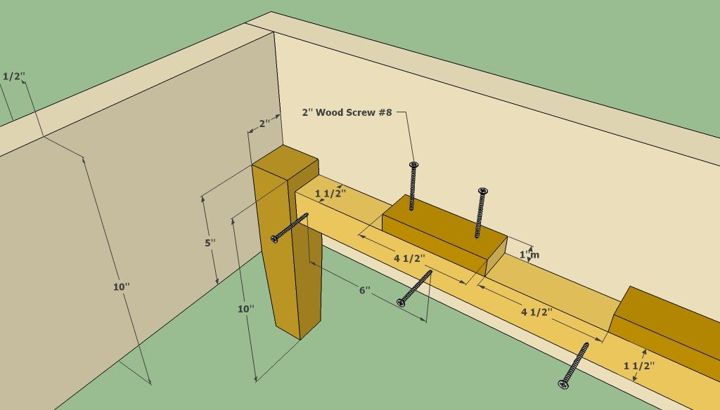 wooden queen bed frame plans howtospecialist how to build step by step diy - Wood Bed Frame Plans