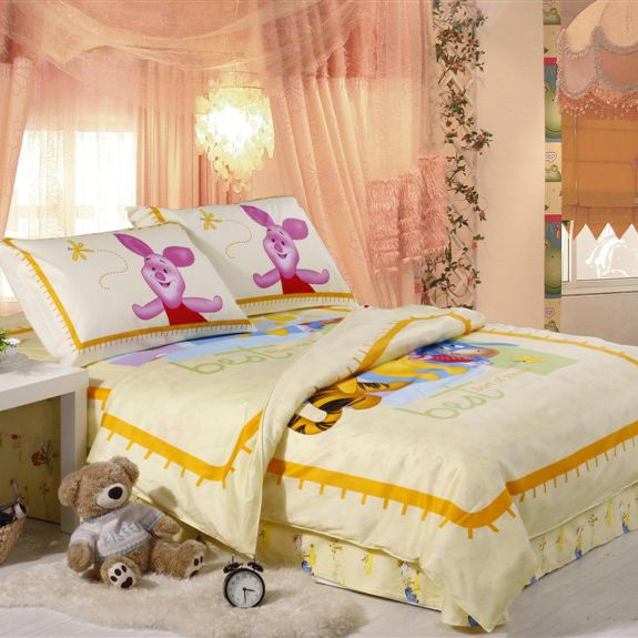 Winnie The Pooh Lenzuola.Yellow Winnie The Pooh Bed Sheets Set Winnie Pooh Bedding 18