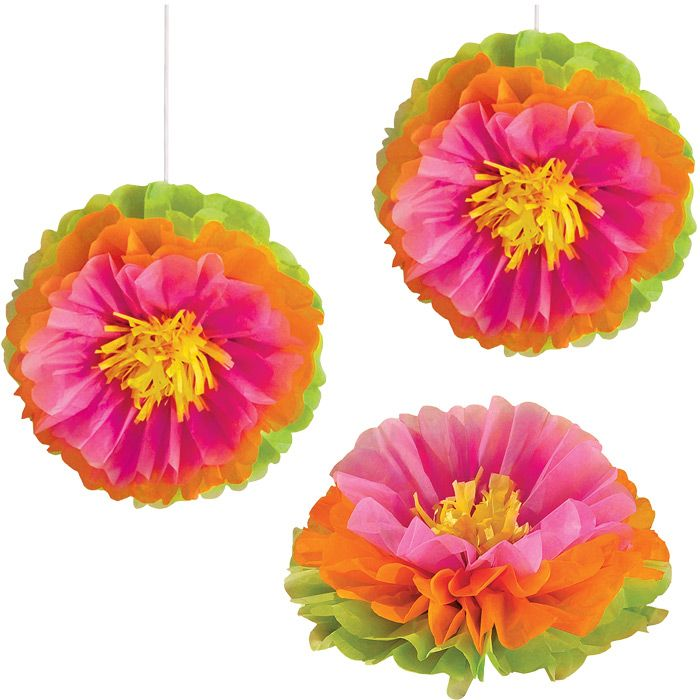 Hibiscus Flower Luau Tissue Decorations Are The Ideal Decorative