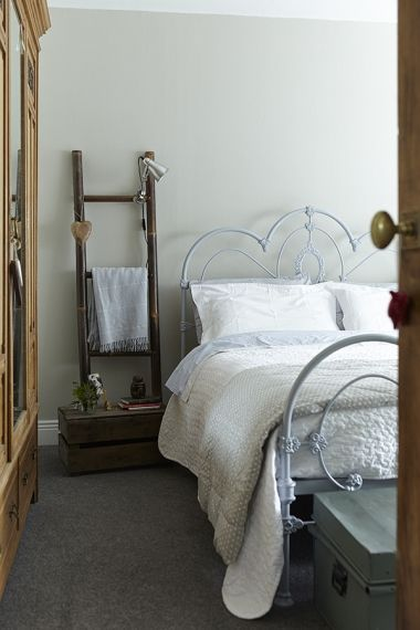 The Cast Iron Bed Is By Laura Ashley And The Bedlinen Is From