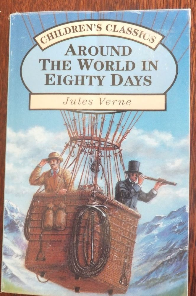 Around The World In 80 Days By Jules Verne Guc Free Post