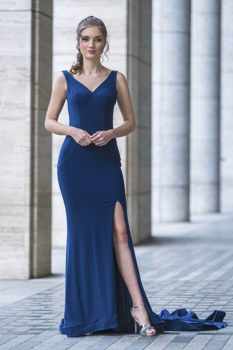 Abendkleid - navy - Elegant in 2020 | Abendkleid ...