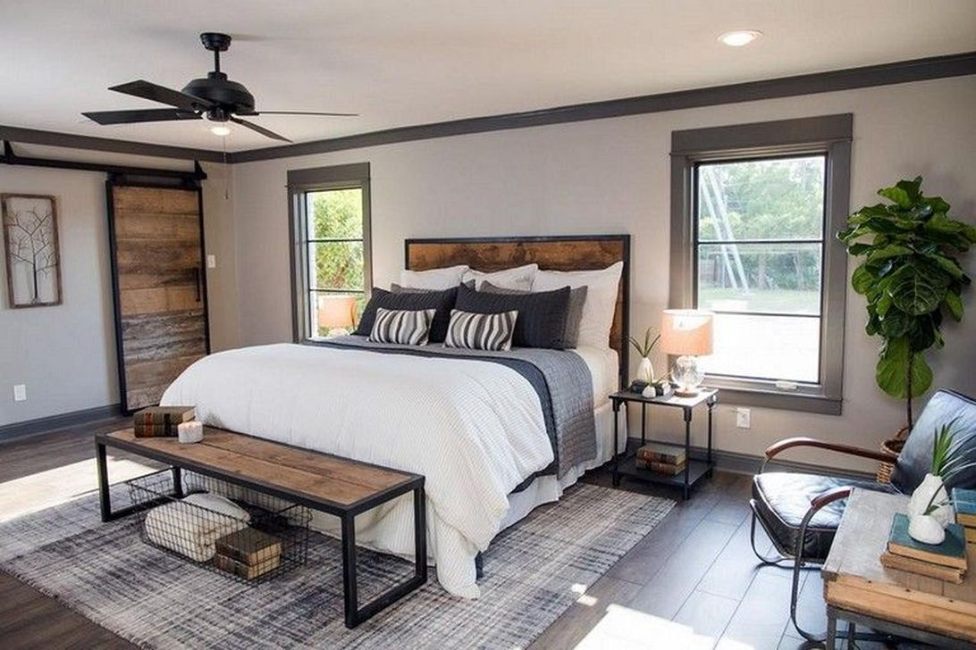 20+ Amazing Bedroom Design Ideas With Industrial Style