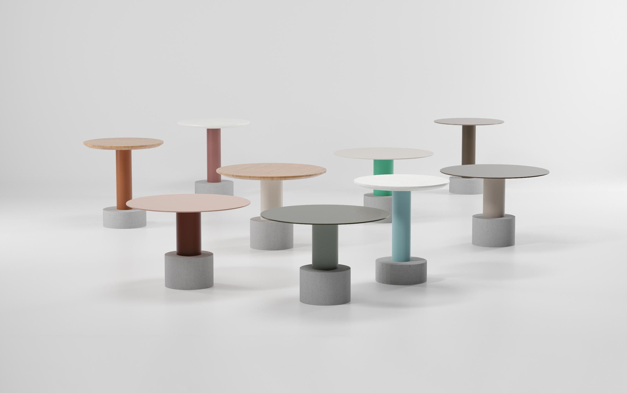 Grand KETTAL | News | Roll Tables By Patricia Urquiola
