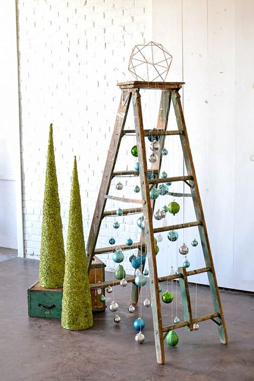 Inspiration Station Fun And Funky Ladder Christmas Tree Showroom