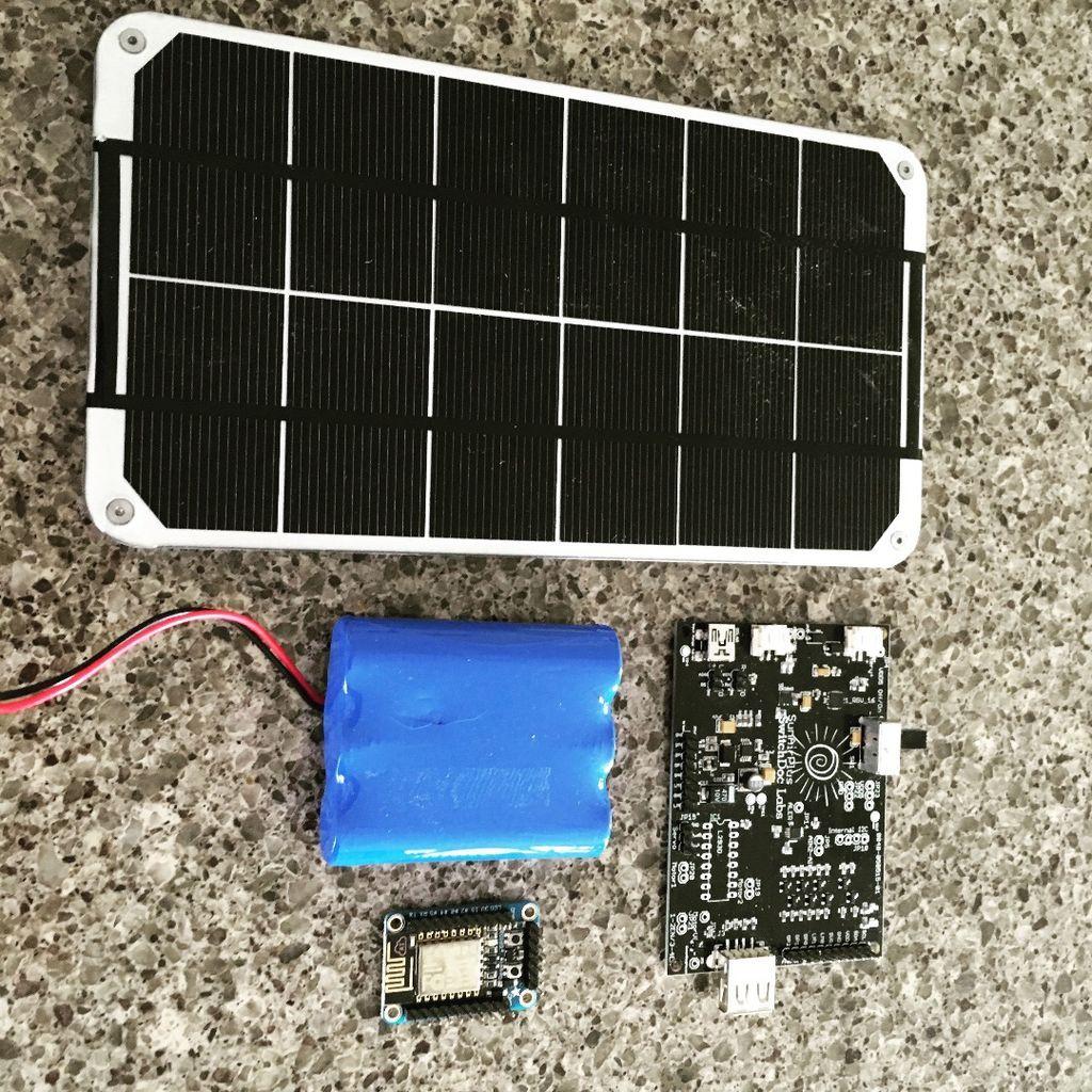 Build A Solar Powered Esp8266 Solar Power Source Solar Power Solar Panels