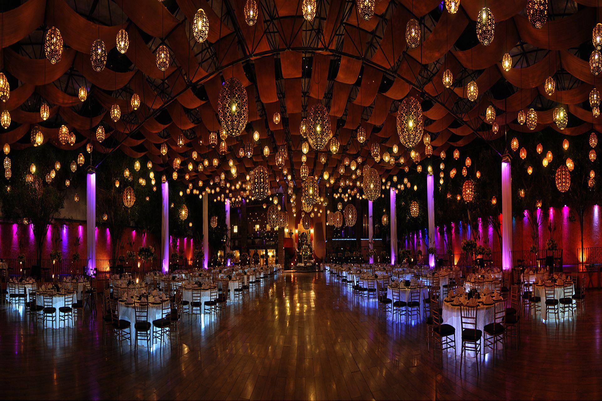 SALON DE FIESTAS | Salones decorados para bodas, Salones de ...