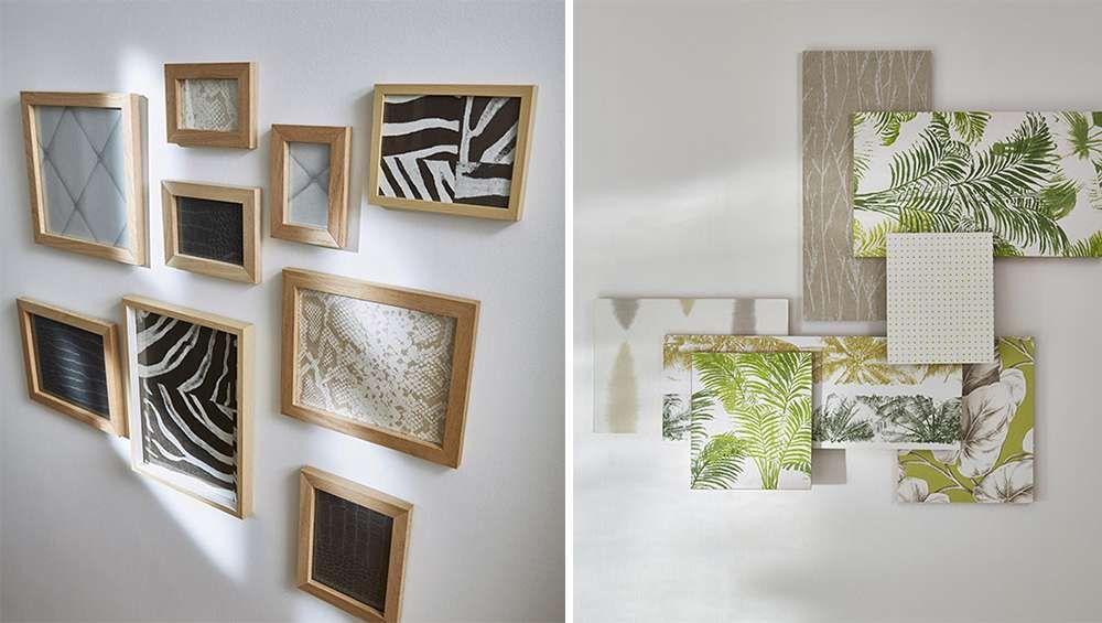 mur-de-cadre-vegetal-et-motif-zebre